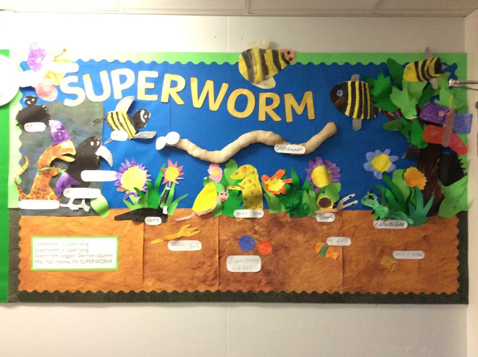 Superworm- Infant Library - Class 1 - Mrs Turner