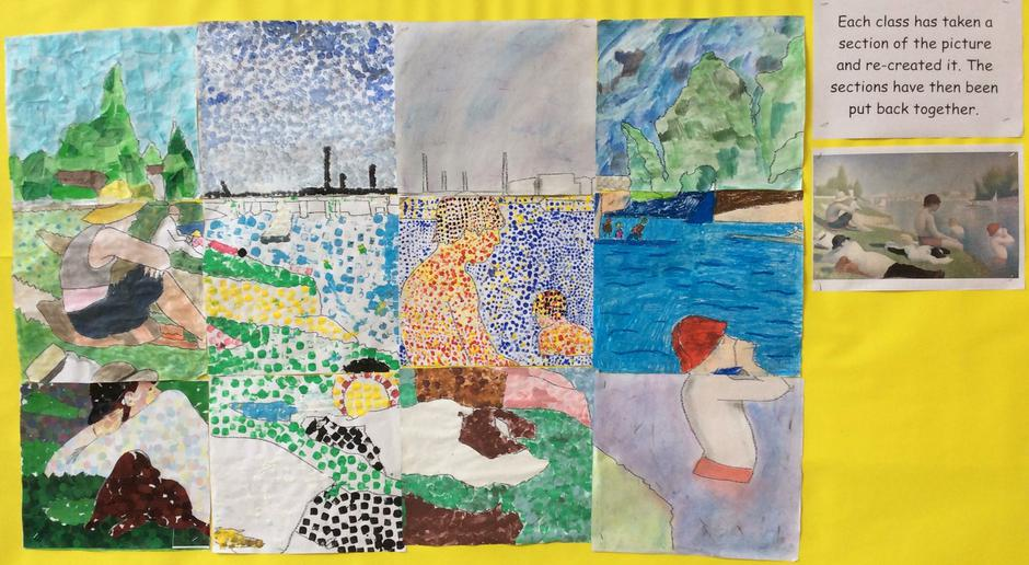 Whole School Georges Seurat Painting - Hall