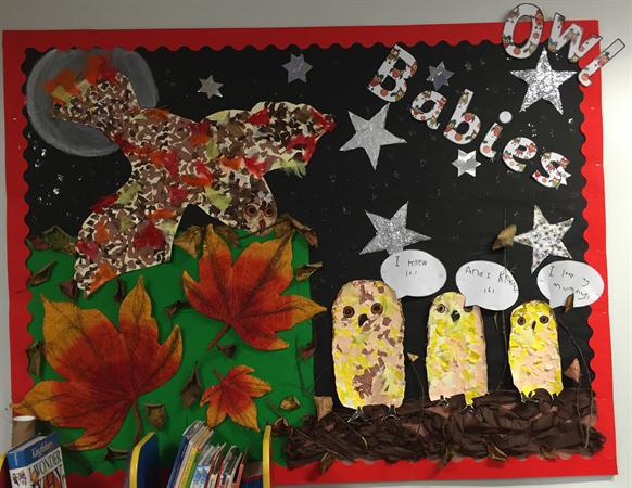 Owl Babies - Infant Library - Class 1