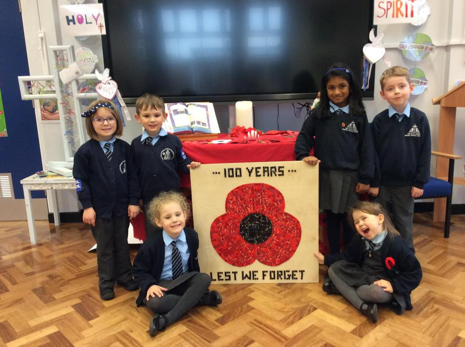 Remembrance Centenary 2018- KS1 School Councillors