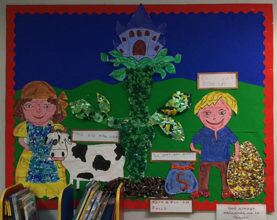 Jack and the Beanstalk - Infant Library - Class 1
