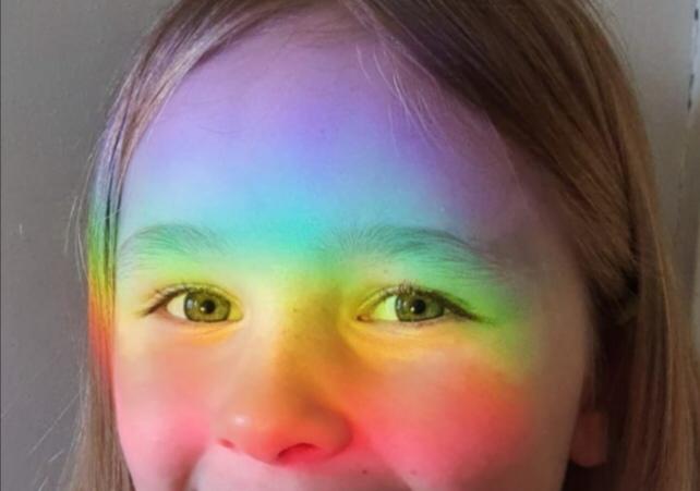 """""""Eye spy a rainbow"""" by Rose Y4"""