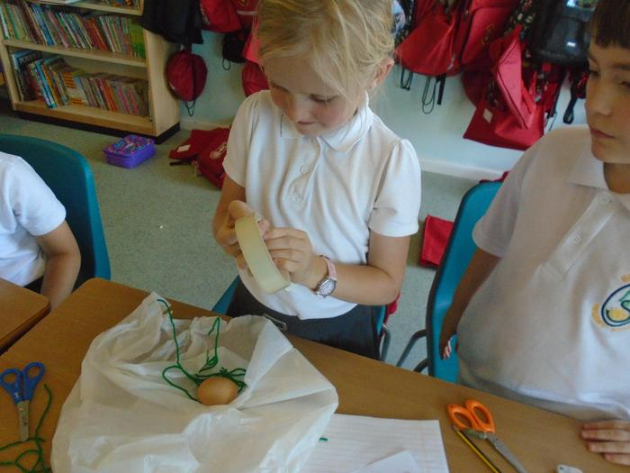 Making our parachutes
