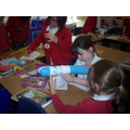 Balloon workshop in Year 4