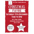 Christmas Fayre Saturday 15th December