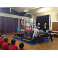 "KS2 Science Week with ""Captain Calamity"""