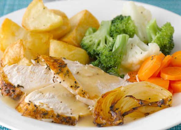 Mrs Larden - Chicken Sunday roast dinner