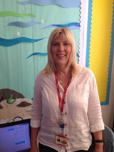 Mrs Venn, teaching assistant