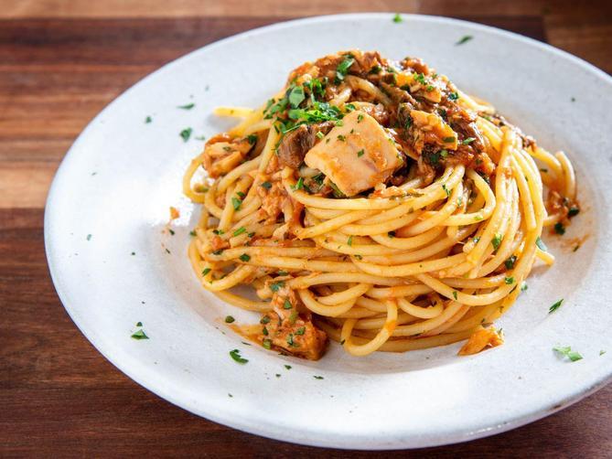 Mrs Venn loves pasta.