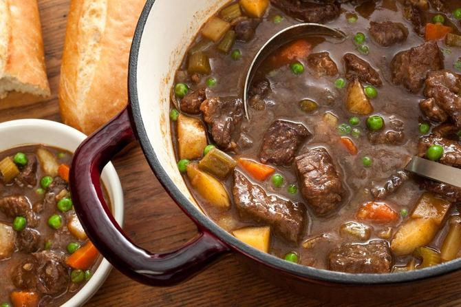 Mrs Johnson - Beef stew