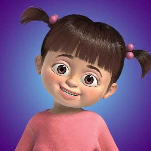 Miss Smith likes Boo from Monsters Inc.