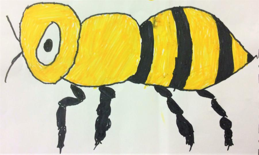 """Introducing """"BEE SAFE"""" our FSU/ Key Stage 1 Mascot"""