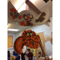 Our owl collages
