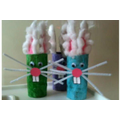 Toilet rube craft bunnies