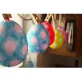 Papier Mache Easter Egg