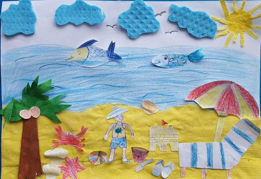 A super seaside collage!