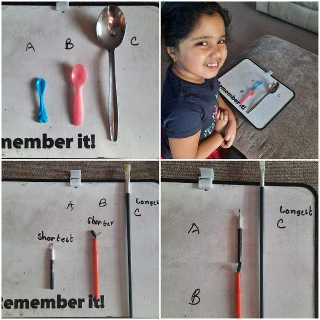 Using objects to measure!