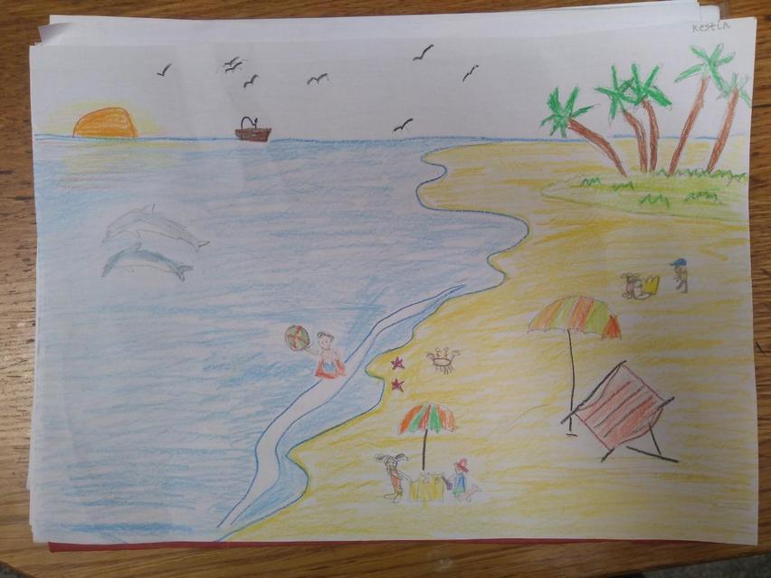 Seaside and sunshine