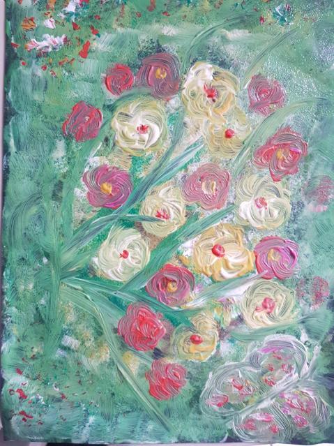 Look at my beautiful painting!
