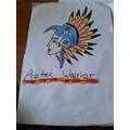 Aztec warrior!