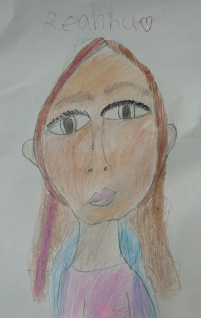 A beautiful self- portrait!