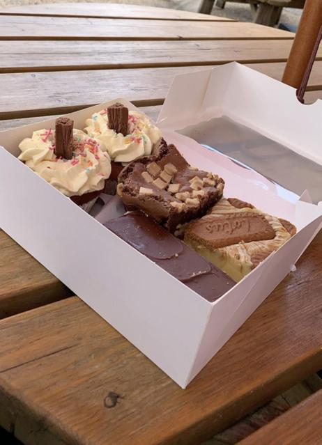 Miss Halliwell bought the most delicious cakes...