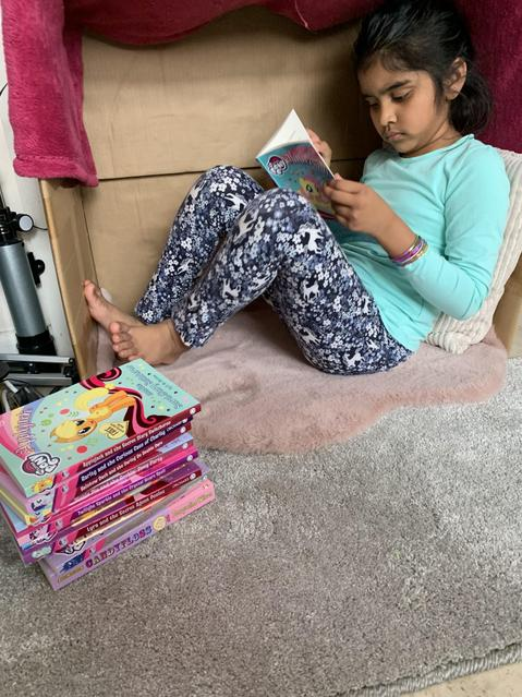 A great reading den!