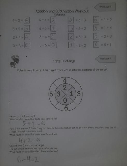 Addition and subtraction work.