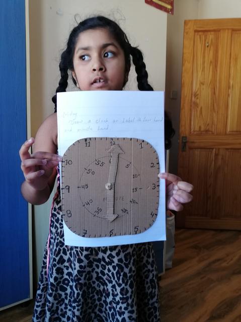 A fantastic clock made at home!