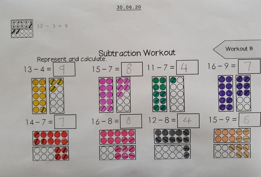 Super subtraction!