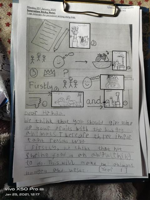 Innovating the letter!
