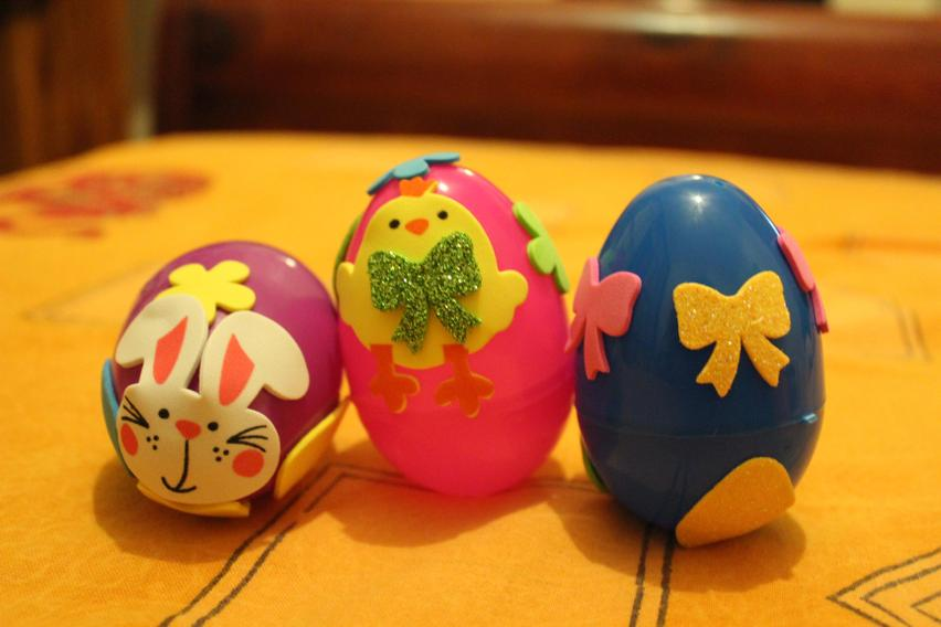 Decorated 3D Eggs!