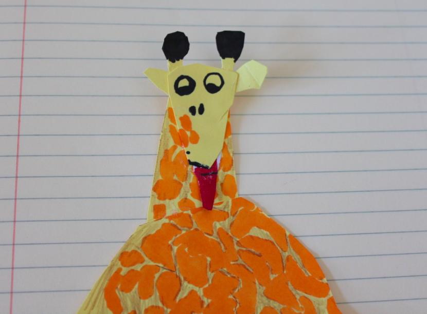 A happy giraffe! :)
