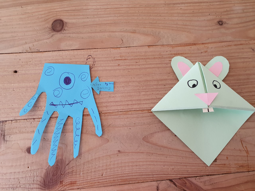 Some lovely hand art creations! :)