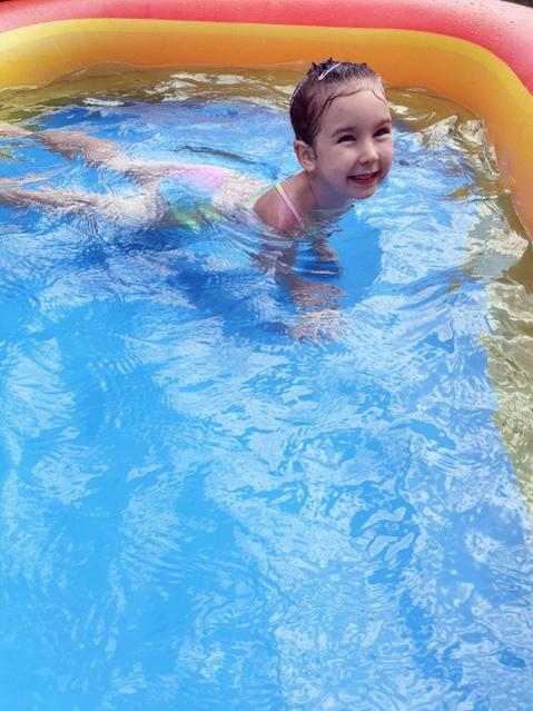 Splashing around in the pool