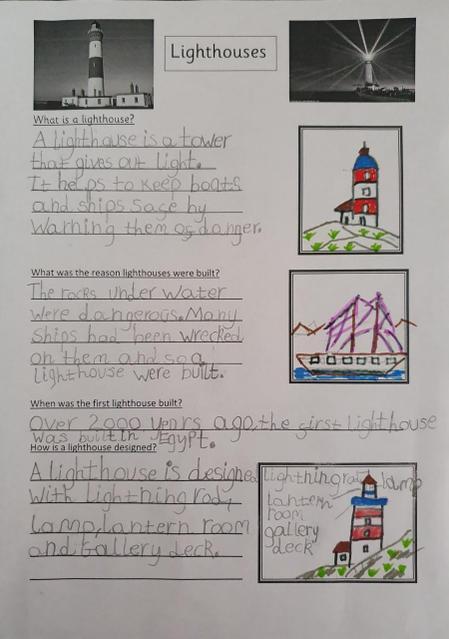 Fantastic lighthouse fact file!