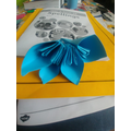 Flower origami!
