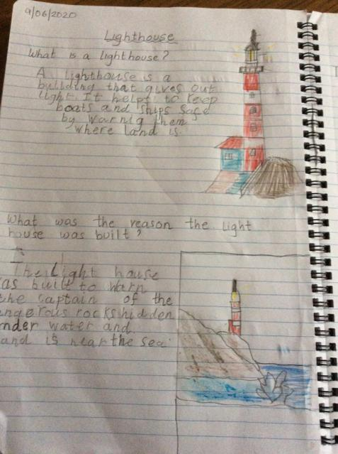 A super fact file about Lighthouses!