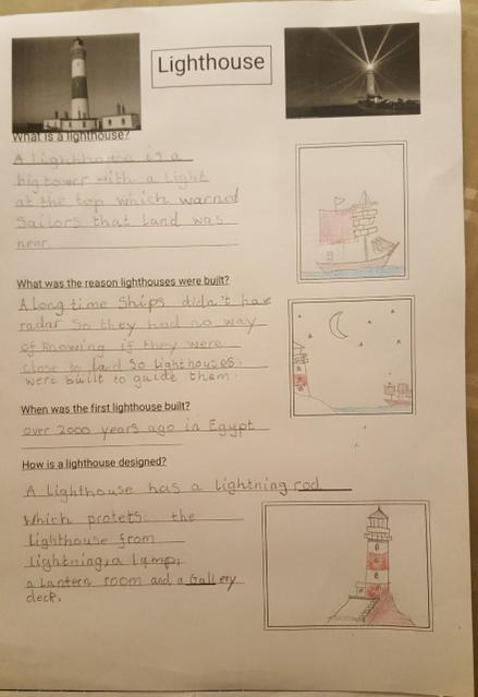 A super lighthouse fact file!