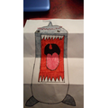 Nommy the shark! :)