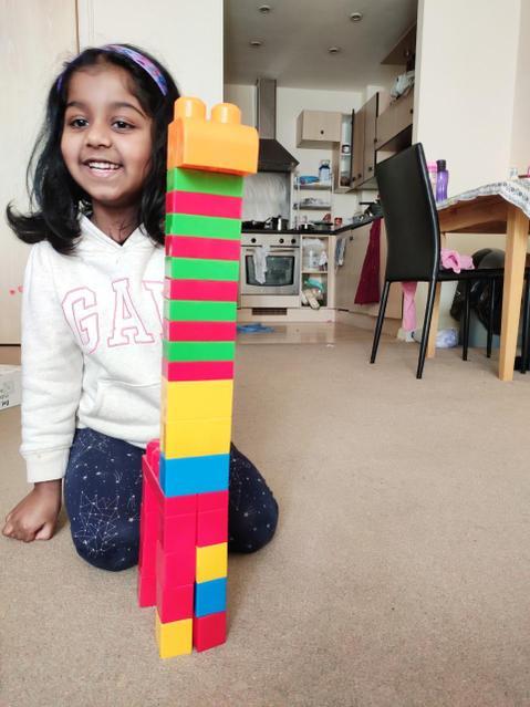 Look at my tower!
