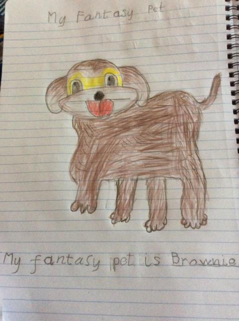 A super fantasy pet.