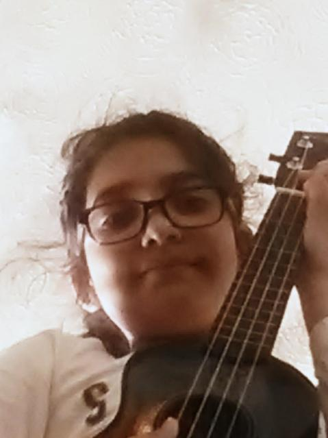 Persevering with tuning and practising chords! :)