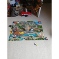 A homemade game with lego!