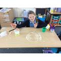 School bubble making bubbles in bubbles!