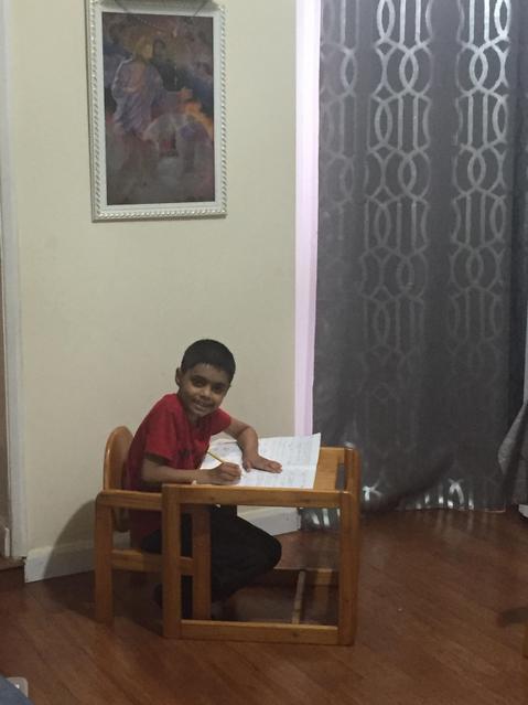 Enjoying my home learning