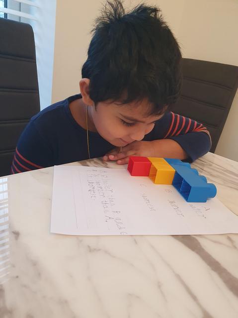 Ordering lengths using blocks!