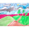 Marvellous mountain art!