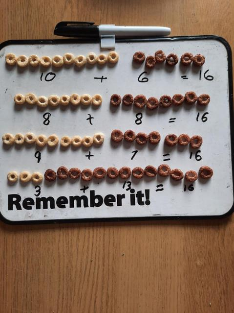 Using cereal to solve a maths problem!