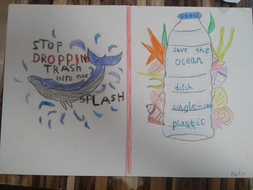 Pollution poster